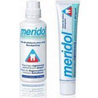 Meridol zubní pasta, Meridol ústní voda