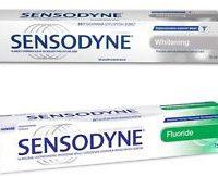 Sensodyne zubní pasta
