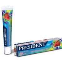 PresiDent dětská zubní pasta, PresiDent dětská ústní voda